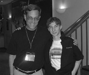 Bob Gale et moi. (28 mars 2003)