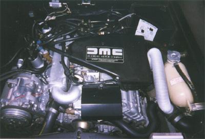 moteur delorean