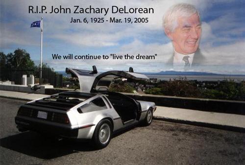 RIP Delorean