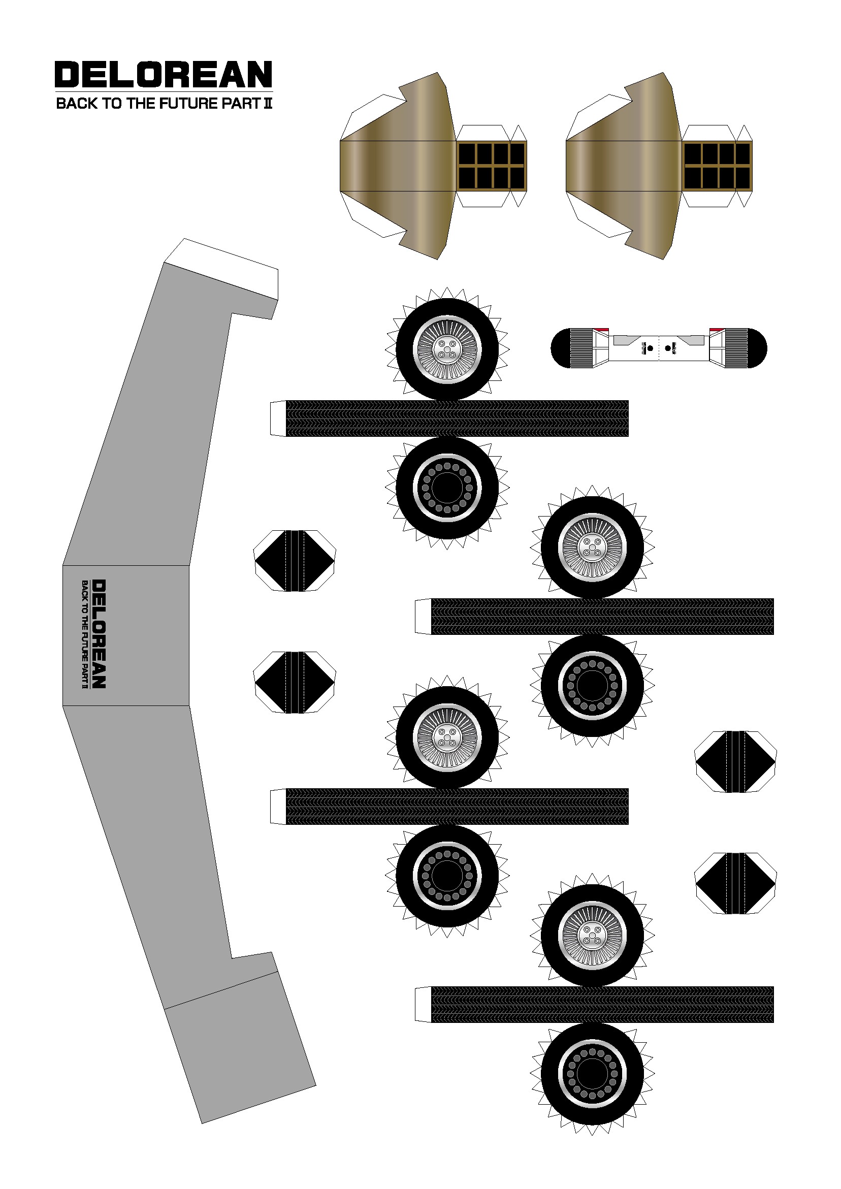 autos para armar de papel taringa. Black Bedroom Furniture Sets. Home Design Ideas