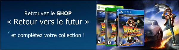 Shop Retour vers le futur