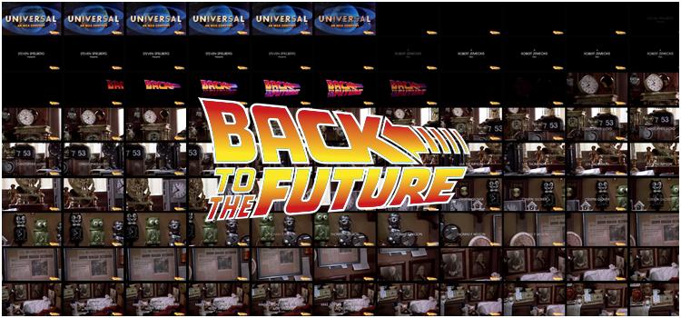 Captures d'écran Retour vers le futur