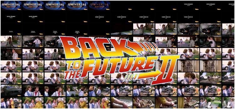 Captures d'écran Retour vers le futur 2