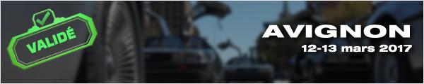 Sortie DeLorean Avignon 2017