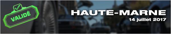 Sortie DeLorean Haute Marne 2017