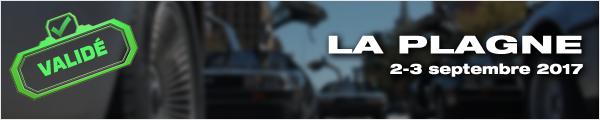 Sortie DeLorean La Plagne 2017
