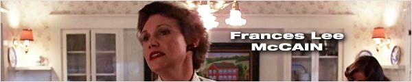 Filmographie et biographie de Frances Lee McCain