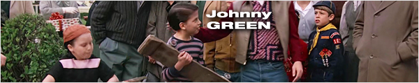 Filmographie et biographie de Johnny Green