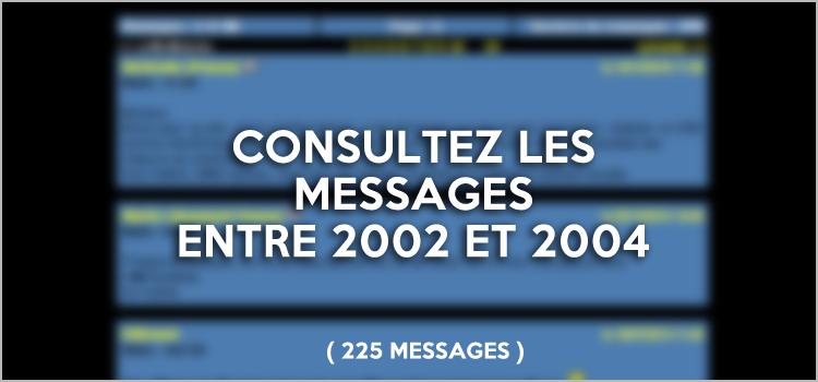 Consulter le Livre d'or Retour vers le futur de 2002 à 2004