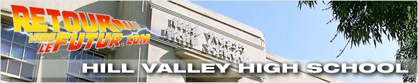 Lieu de tournage Retour vers le futur Lycée de Marty à Hill Valley