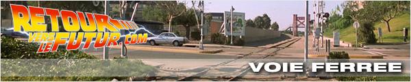 Lieu de tournage Retour vers le futur Voie Ferrée après le ravin Eastwood