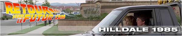 Lieu de tournage Retour vers le futur Hilldale 1985