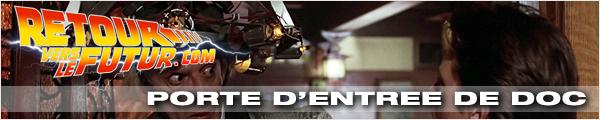 Lieu de tournage Retour vers le futur Porte d'entrée de Doc et intérieur maison