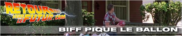 Lieu de tournage Retour vers le futur Biff pique le ballon aux enfants