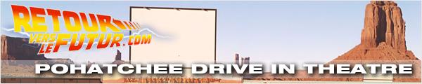 Lieu de tournage Retour vers le futur Pohatchee Drive in Theatre