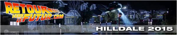 Lieu de tournage Retour vers le futur Hilldale 2015
