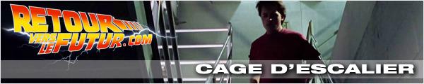 Lieu de tournage Retour vers le futur cage d'escalier