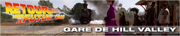 Lieu de tournage Retour vers le futur Gare de Hill Valley