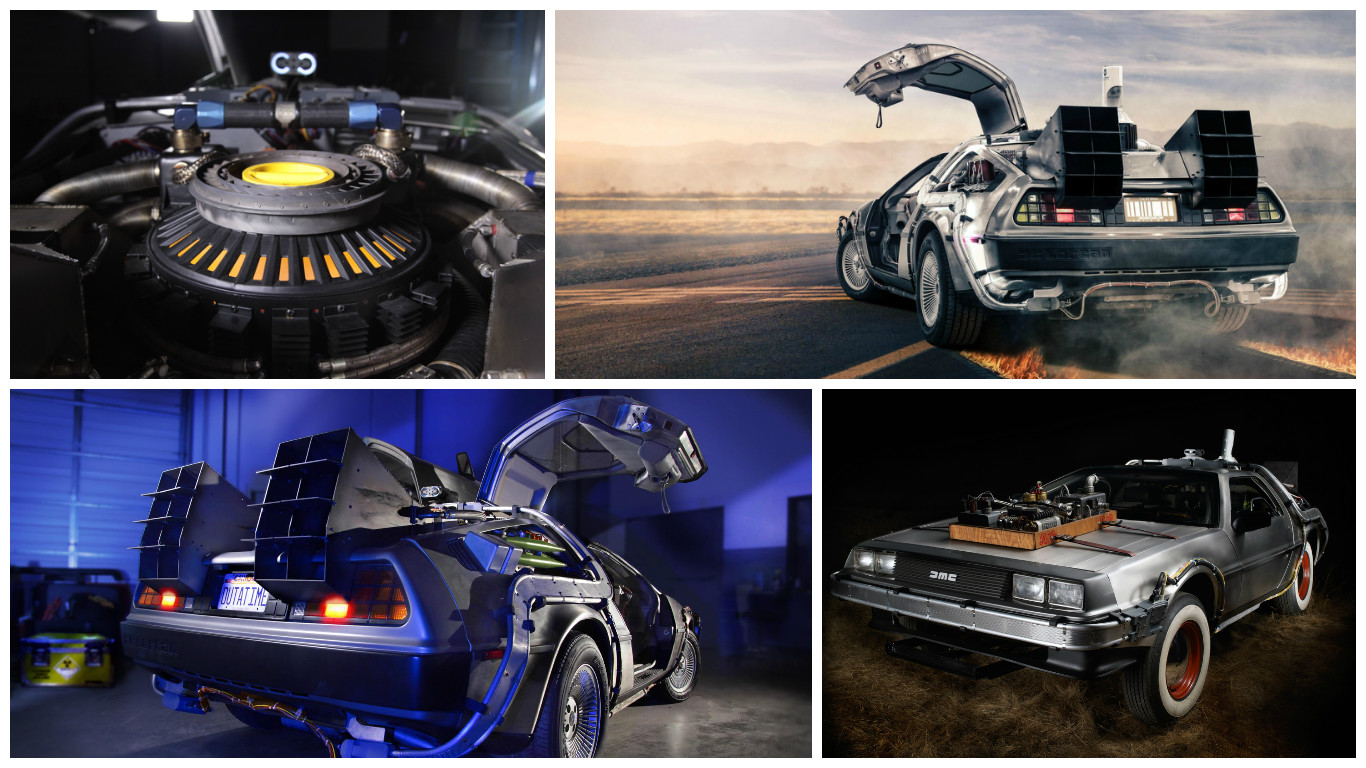 Photos DeLorean Retour vers le futur