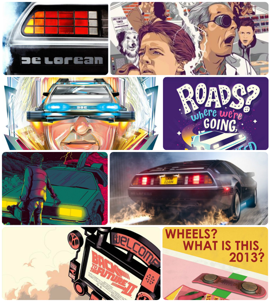 Wallpapers BTTF / Fonds d'écrans Retour vers le futur