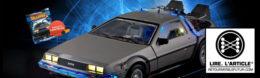 Construisez votre DeLorean avec la collection EagleMoss