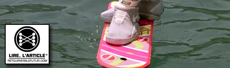 Le hoverboard de Retour vers le futur mis aux enchères