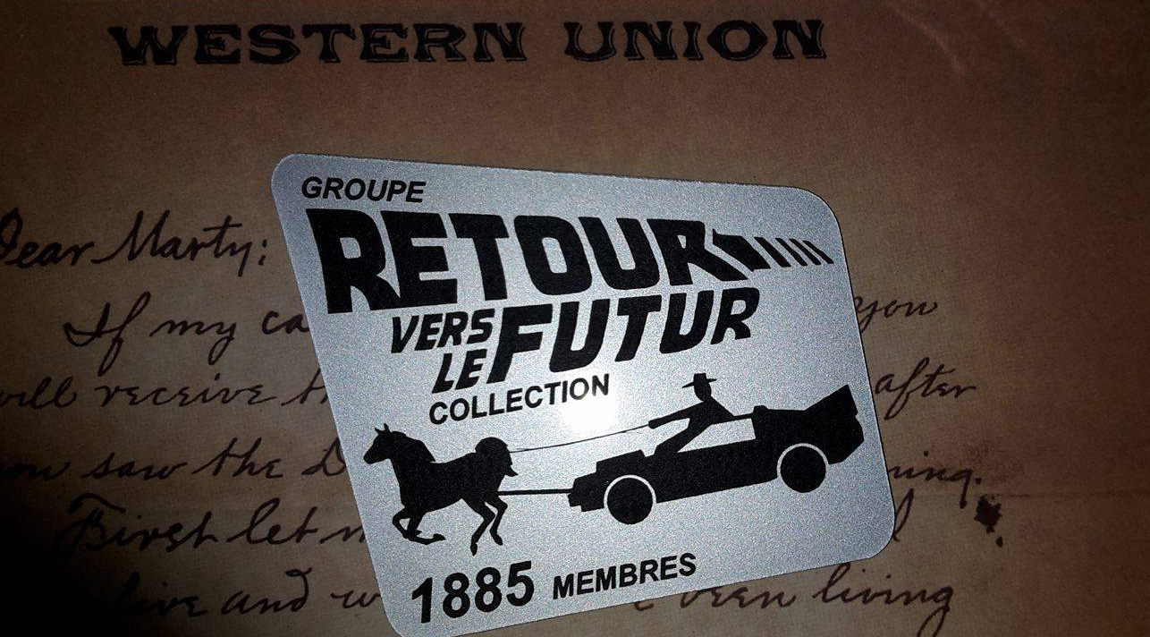 Badge 1885 Retour Vers Le Futur Collection