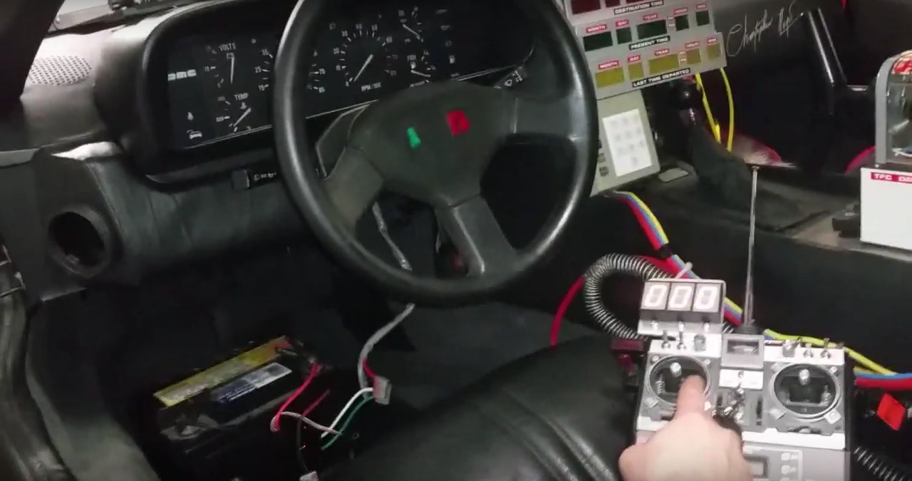 delorean and futaba remote control