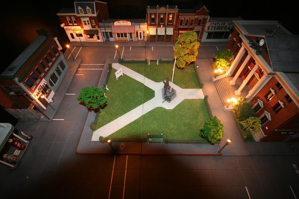 Diorama by night