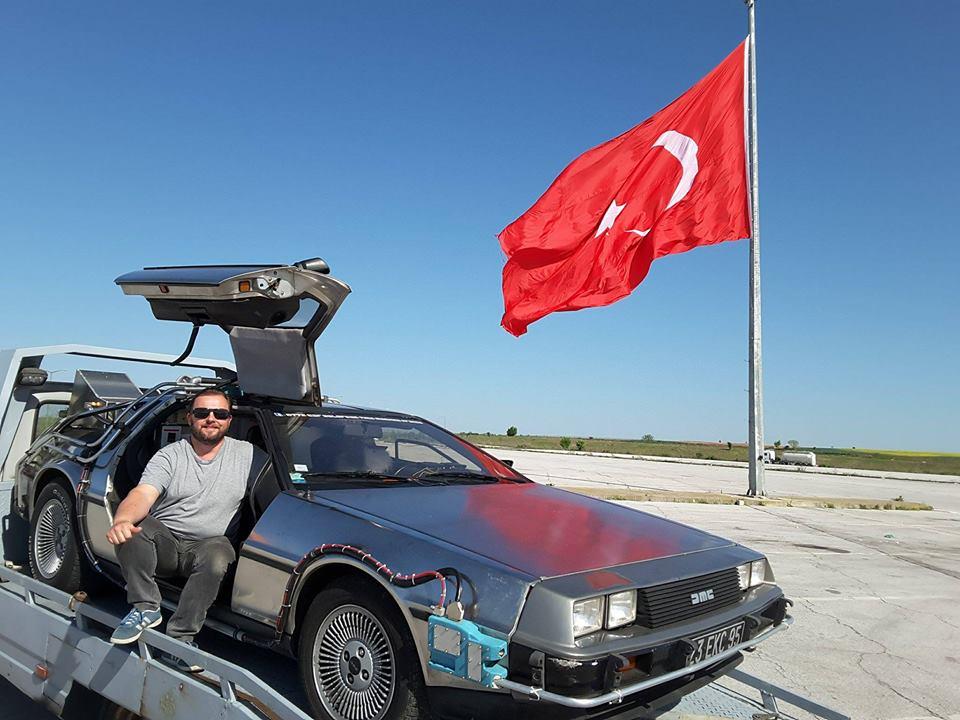 DeLorean en Turquie